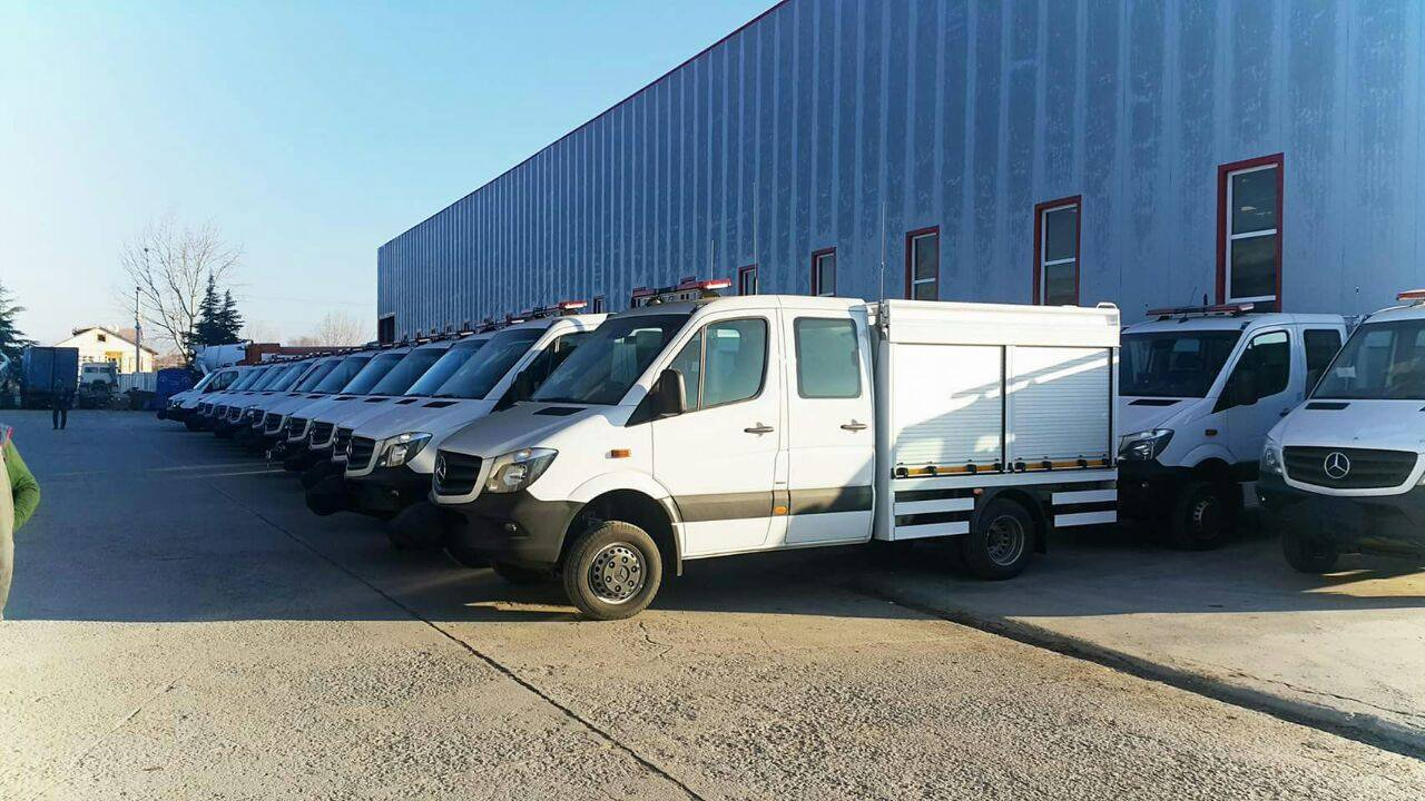 SEARCH&RESCUE VEHICLES DELIVERED TO AFAD
