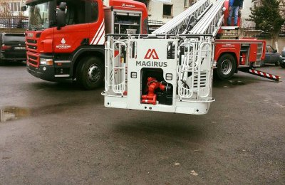 AERIAL LADDERS DELIVERED IN ISTANBUL