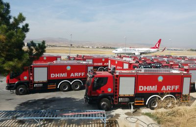 22 ARFF WATER TANKERS DELIVERED TO DHMI (State Airports Directorate)