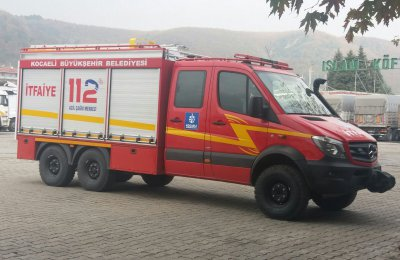 Kocaeli Fire Department Delivery