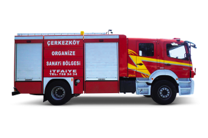 DOUBLE CAB FIRE FIGHTING VEHICLE